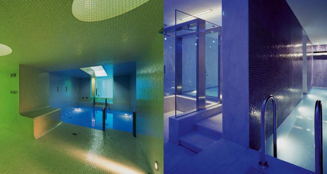 Showroom en Barcelona de Mosaicos en vidrio, piedra, mármol, gres, cerámica y aluminio