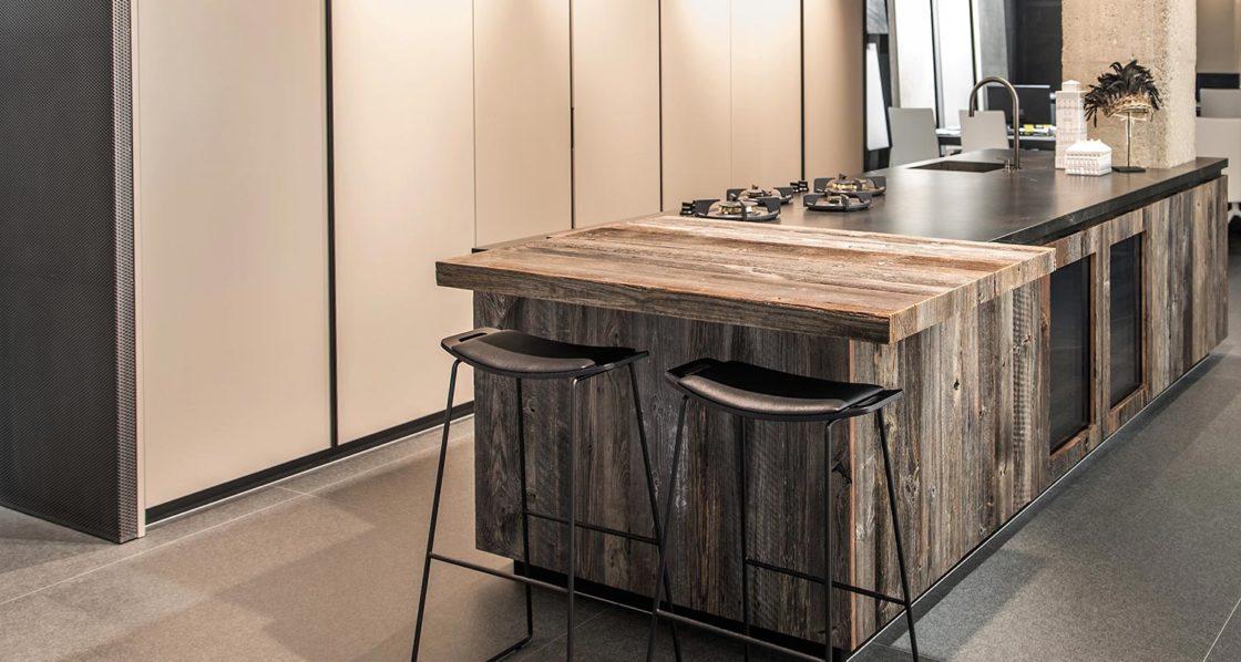 Showroom profesional de cocinas de diseño en Barcelona