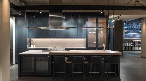 Cocinas modernas y clásicas Azul Acocsa