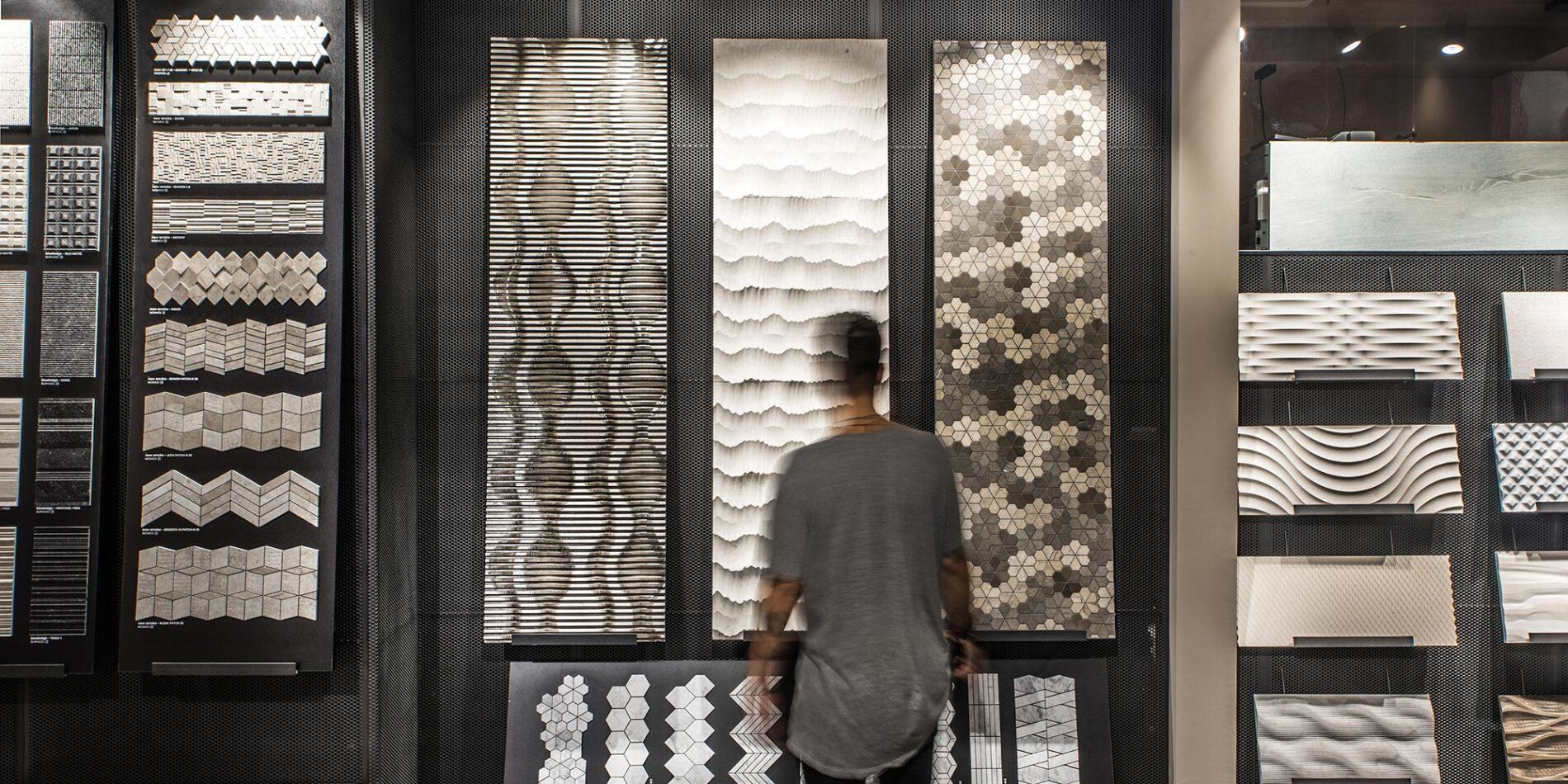 Materiales singulares, texturas sorprendentes en Barcelona