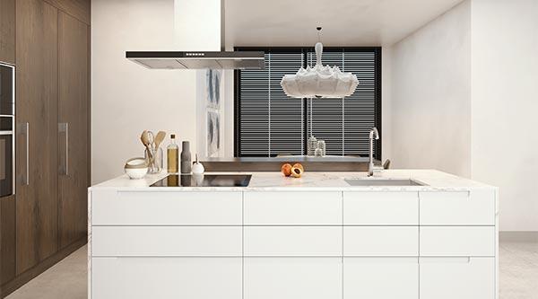 Cocinas Slim para promociones inmobiliarias