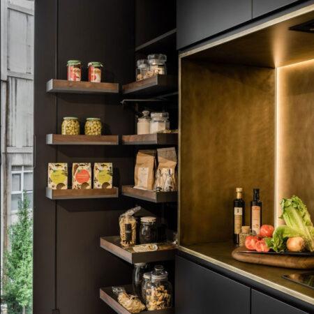 La importancia de contar con un buen almacenamiento en tus proyectos de cocinas