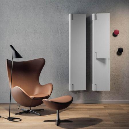 ¡El radiador Byobu, diseñado por Marc Sadler para la firma Antrax es puro diseño!