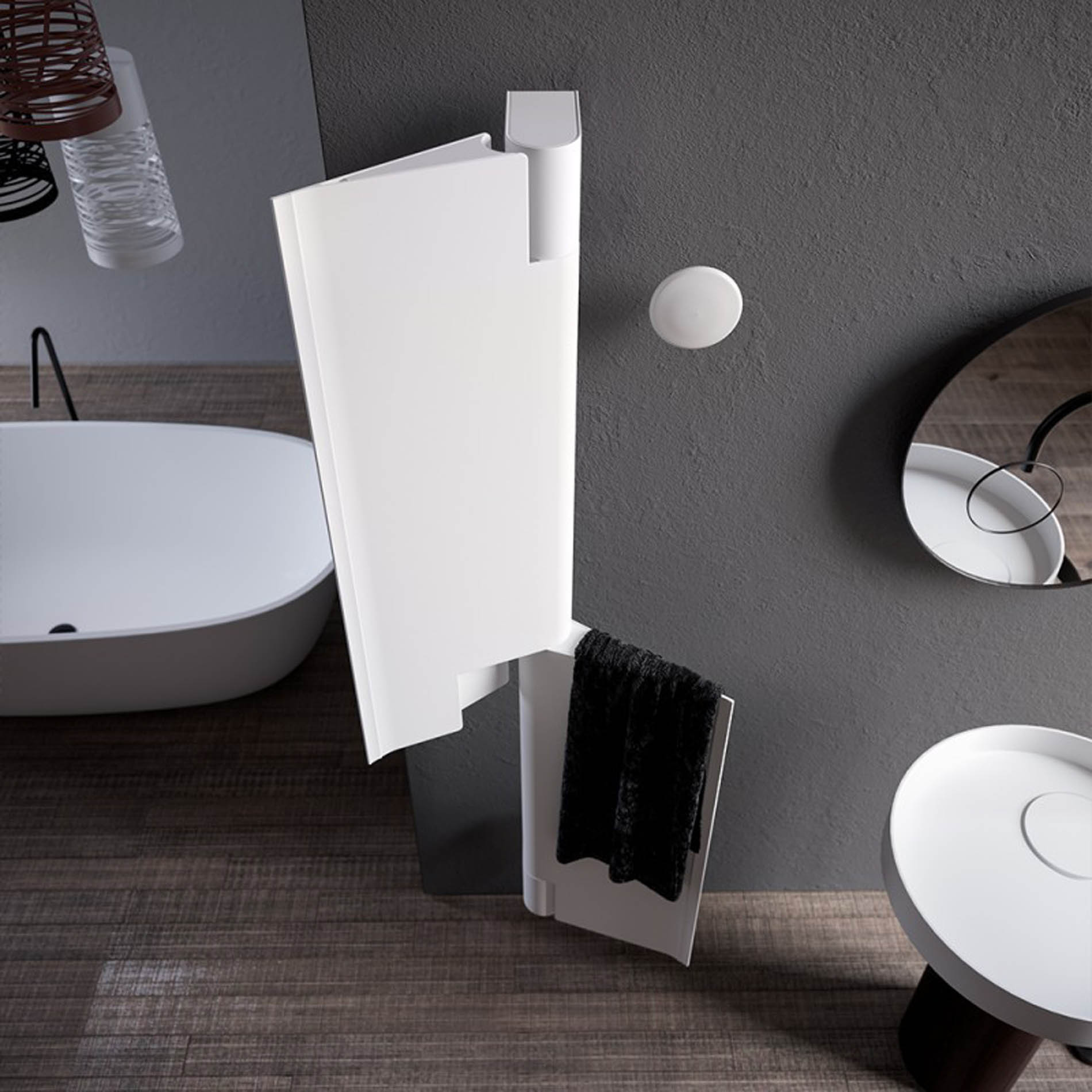 Radiador Byobu, diseñado por Marc Sadler para la firma Antrax