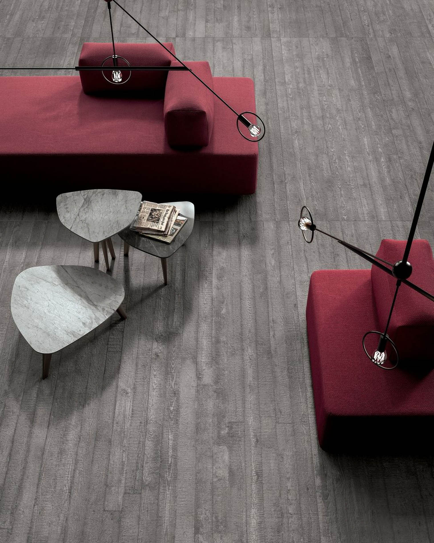 Colección de pavimentos y revestimientos Cement en Barcelona