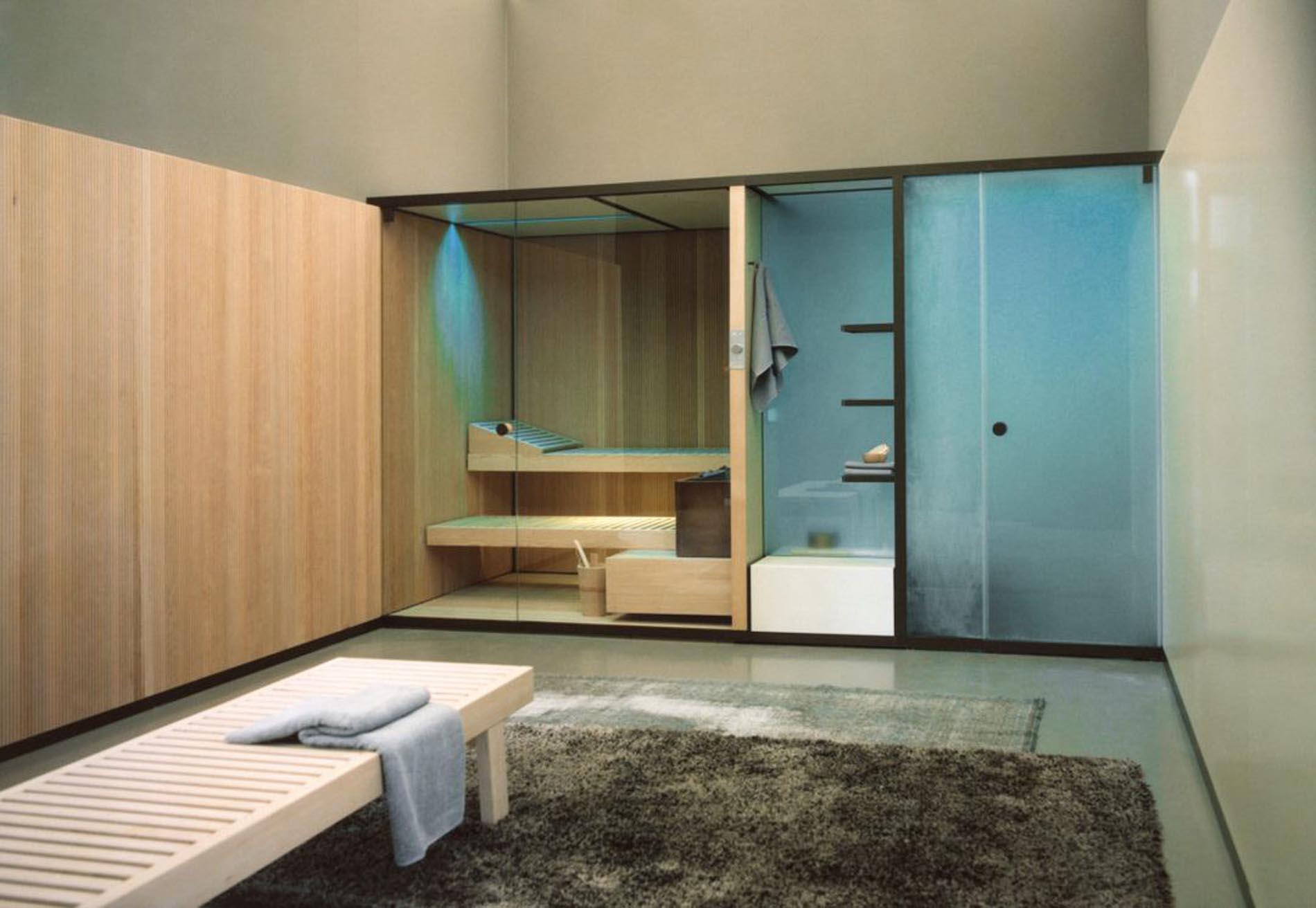 Sauna, baño turco y ducha de Effegibi ya disponible en Barcelona