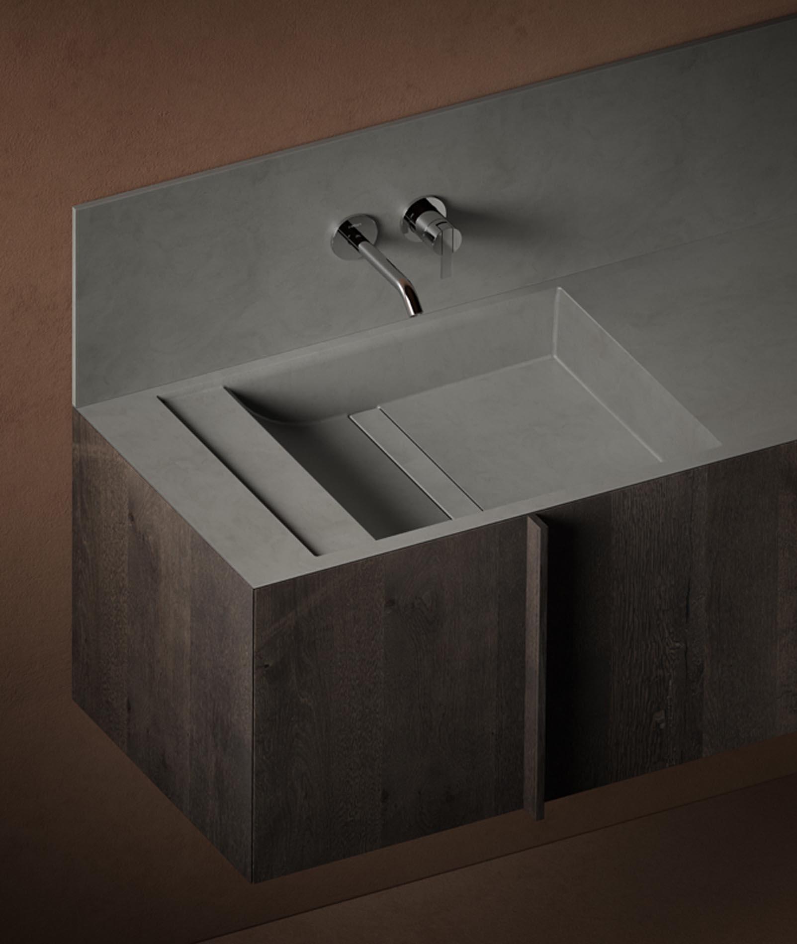 Baños diseñados por Víctor Carrasco para Inbani en Barcelona
