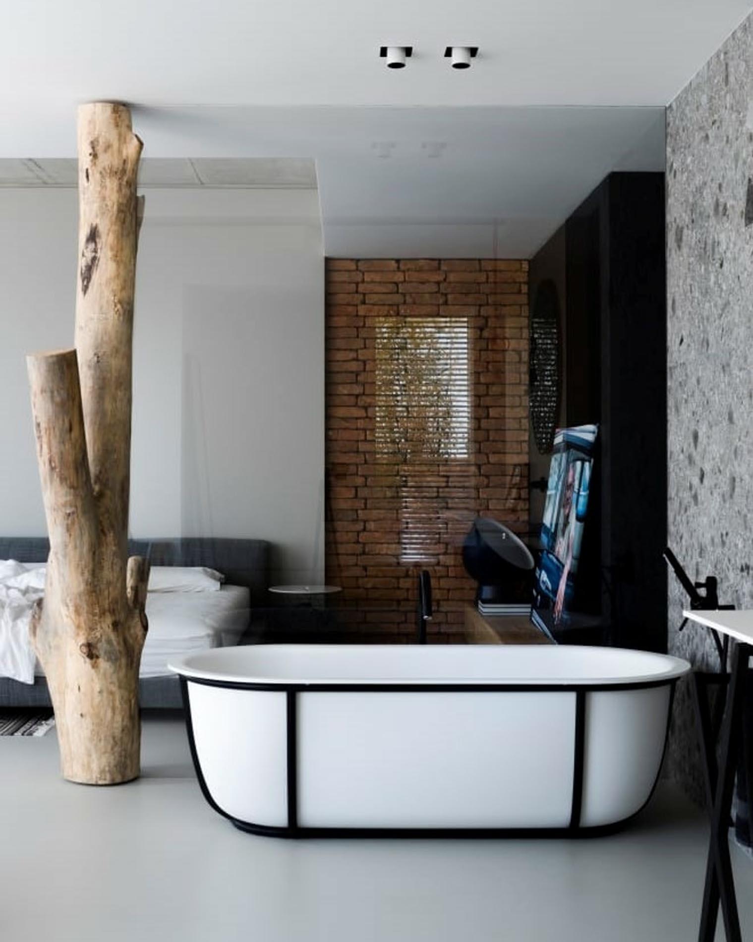 Bañeras de Patricia Urquiola para Agape en Barcelona