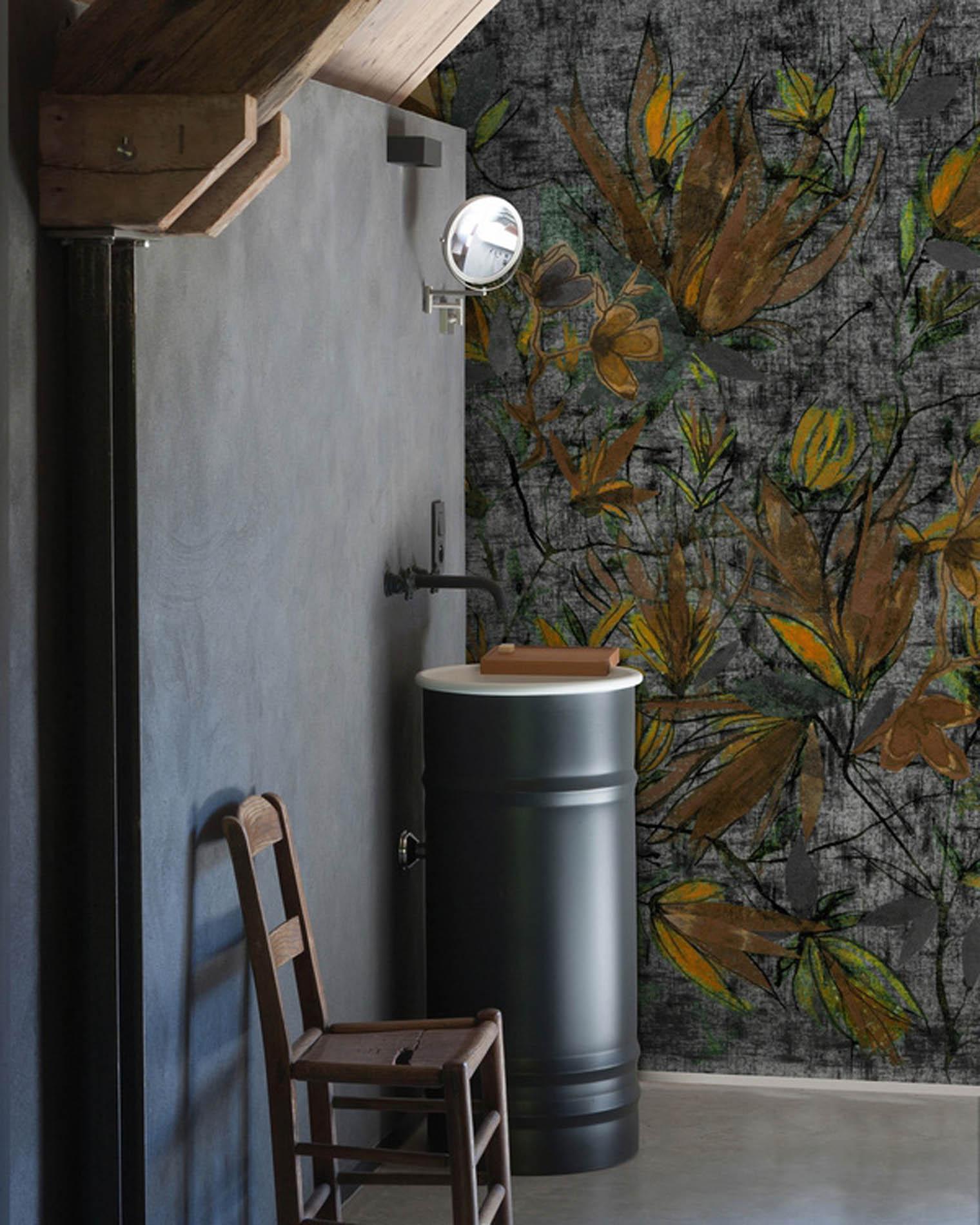 Papeles pintados de diseño de la firma Wall & Deco pensados para espacios húmedos
