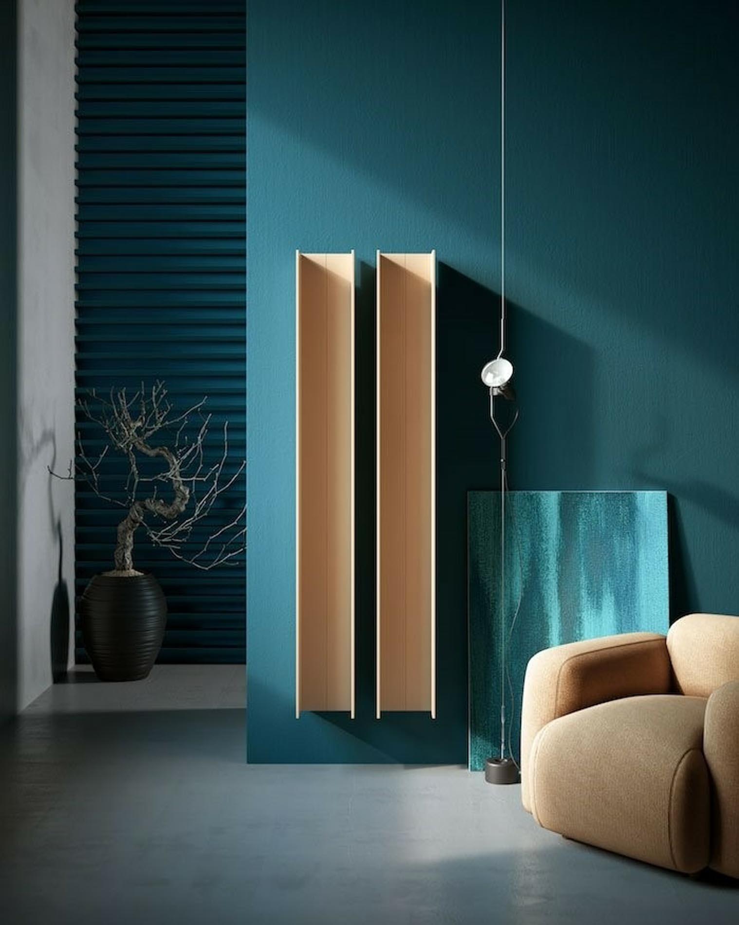 Un radiador de diseño que se convierte en mueble de Antrax