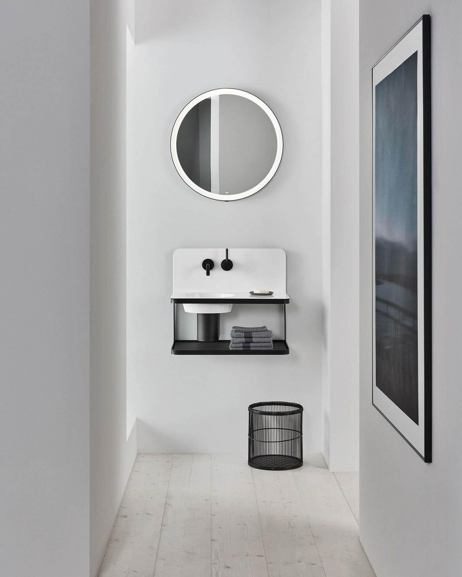 """Accesorios para baños """"Steel 19"""" de Alape en Barcelona"""