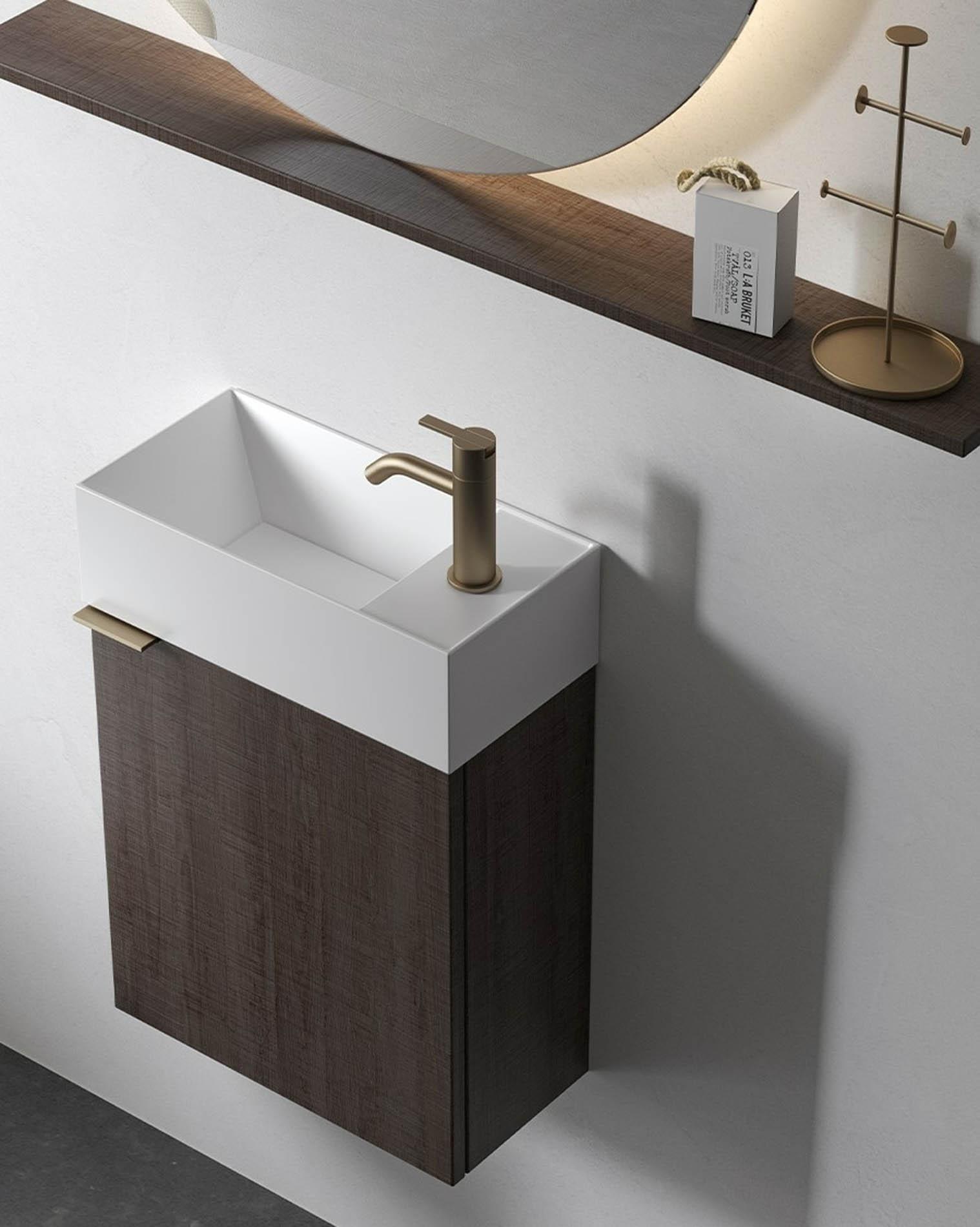"""Colección de lavabos """"Facett"""" de diseño compacto ya en Barcelona"""